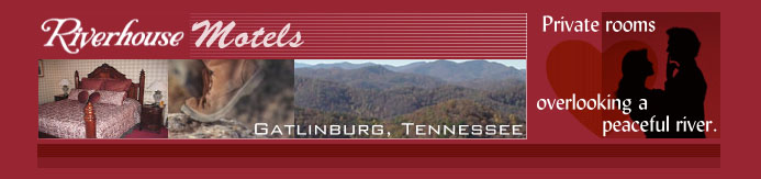 Motels in Gatlinburg with 2 great locations - Ski Mountain Road near the Great Smoky Mountains National Park entrance and in downtown Gatlinburg near attractions, dining and shopping.